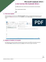 Como Crear Filtro de Correo MS Outlook 2013 & 2016