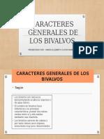 Caracteres Generales de Los Bivalvos