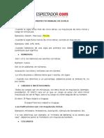 Proyecto Manual