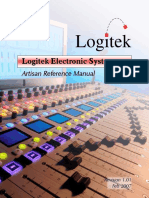 Logitek Artisan Reference Manual Rev 1 01 SCREEN
