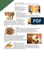 Alimentos Que Fortifican Tu Sistema Inmune