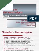 Formulacion de Marco Logico