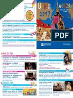 Programa Antroxu Oviedo 2017