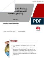 119308521 Training Document IManager M2000 CME V200R011 Introduction to the Working Principles Basics 20111106 B 1 1
