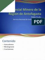 1 - Potencial Minero Region Antofagasta - W. Vivallo - Sernageomin