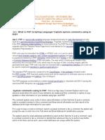 Web Development Through Open Source Technologies BCA 2016 DEC