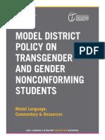 trans modelpolicy 2014