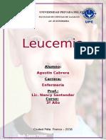 Enfermedades Sangre Leucemia