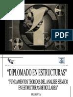 FUNDAMENTOS TEORICOS DEL ANALISIS SISMICO EN ESTRUCTURAS RETICULARES