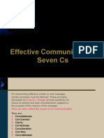 7Cs of Effective Communication