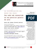 Icono14. A8/V2. La digitalización del Museo del Prado
