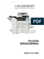 Ricoh MP C3502 Service manual