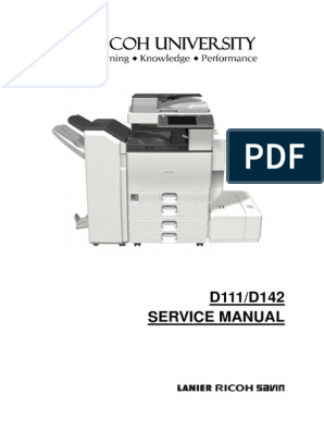 Ricoh MP C3502 Service manual | Power Supply | Image Scanner