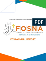 FOSNA 2016 Annual Report
