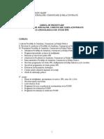 GHIDUL DE PREZENTARE A FACULTĂłII DE JURNALISM, COMUNICARE SI RELAłII PUBLICE SI A PROGRAMULUI DE STUDII IFR