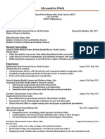 alexandria fitch resume