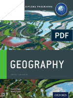 Oxford IB Programme Geography Textbook