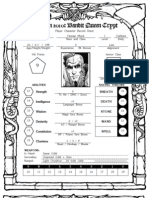 Gencon 2010 Character Sheet MONK