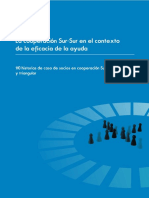 2010 OECD La cooperación Sur-Sur en el contexto de la e cacia de la ayuda.pdf