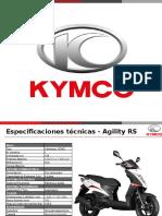Fichas técnicas Agility RS y City 16+