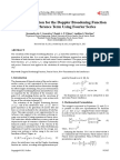 An Approximation for the Doppler Broadening Function and Interference Term Using Fourier Series