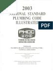 National Standard Plumbing Code Illustrated (2003)