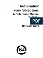 AutomationNetworkSelectionThirdEd Caro Chapter3