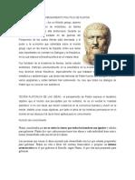 Pensamiento Politico de Platon