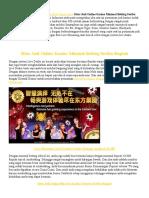 Situs Judi Online Kasino Minimal Betting Seribu Rupiah