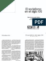PSP (2002) - El Socialismo en El Siglo XXI (Concepción de Uruguay)