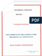 Soil Report