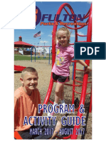 City of Fulton Parks and Recreation Program and Activity Guide