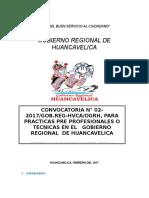 9371931 Bases de La Segunda Convocatoria de Practicas - 2017 - Final