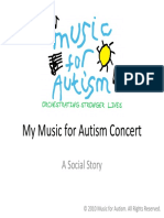 My Music for Autism Concert - A Social Story