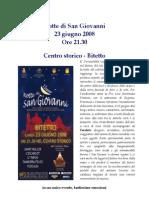 La notte di San Giovanni 2008 - Bitetto