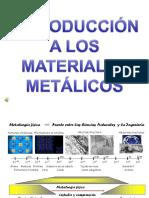 Materiales Metálicos Intro