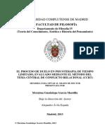 El Proceso de Duelo en Psicoterapia. Moraima Guadalupe García.