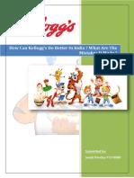 FT173080 Assignment 3 Kellogg's