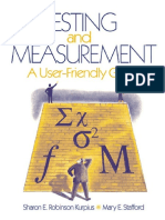 Testing and Measurement.docx
