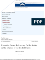 Executive Order_ Enhancing Public Safety in the Interior of the United States _ Whitehouse.gov