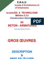 Béton-Armatures