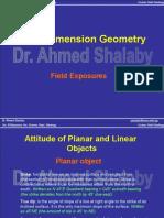3. Three Dimension Geometry