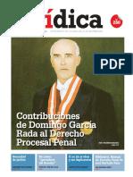 CONTRIBUCIONES DE DOMINGO GARCÍA RADA AL DERECHO PROCESAL PENAL
