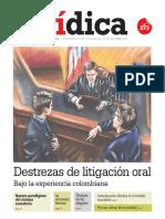 DESTREZAS DE LITIGACIÓN ORAL Bajo la experiencia colombiana