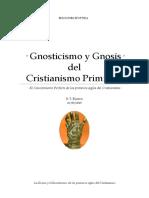 · Gnosticismo y  Gnosis del Cristianismo Primitivo · El Conocimiento Perfecto de los primeros siglos del Cristianismo ·.pdf