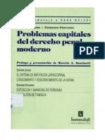Problemas Capitales Del Derecho Penal - Jakobs, Günter - Struensee, Eberhard