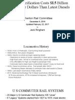 Caltrain Electrification 2-22-2017