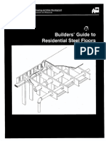 Builders Guide to Residential Steel Floors Cfmf