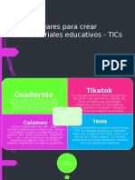 Software Para Crear Materiales Educativos - TICs