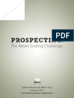 05-10-13 Prospecting-The Never Ending Challenge